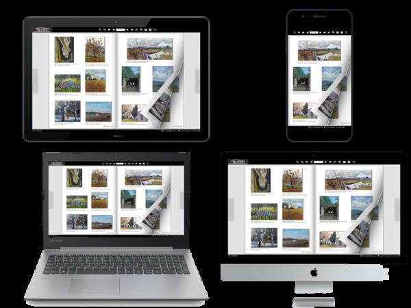 Il catalogo multimediale è un libro elettronico sfogliabile. E' visualizzabile su PC, MAC, SMART PHONE, TABLET