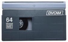 Digitalizzazione videocassette DVCAM , si convertono nel formato MPEG2, MPEG4, supporto DVD 5, DVD 9