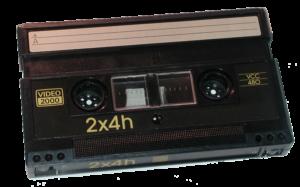 Digitalizzazione videocassette a Firenze, si convertono VIDEO 2000 nel formato MPEG2, MPEG4, supporto DVD 5, DVD 9