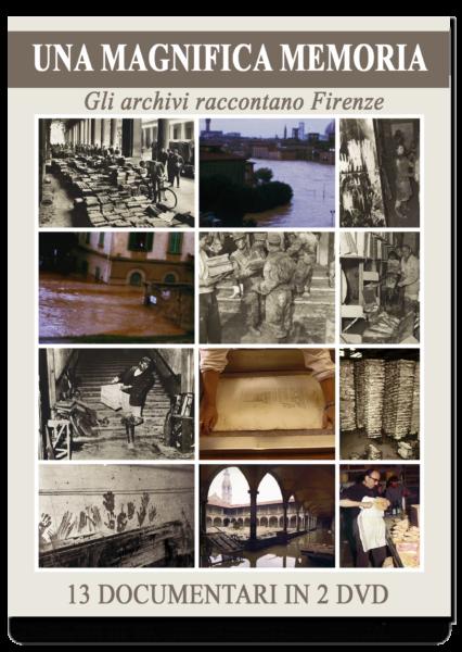 Una magnifica memoria, gli archivi raccontano Firenze, 13 documentari in 2 DVD. In elegante cofanetto